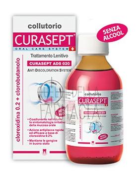 Curaden Curasept ADS Clorexidina 0,20% Clorobutanolo Collutorio Lenitivo 200 ml