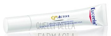 Eucerin Linea Q10 Active Idratante Rigenerante Antirughe Contorno Occhi 15 ml