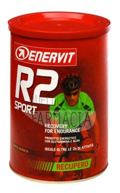 Enervit Sport Linea Energia R2 Sport Prodotto Energetico Gusto Arancia 400 g