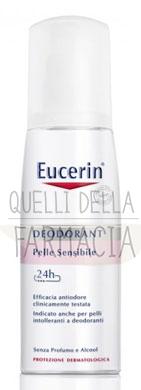 Eucerin Linea Deo Deodorante Delicato Pelli Sensibili Vapo 75 ml