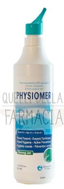 Physiomer Linea Pulizia e Salute del Naso Soluzione Spray Getto Forte 210 ml