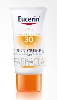 Eucerin Linea Solare Pelli Sensibili SPF30 Crema Viso Pelli Normali Secche 50 ml