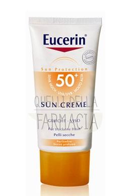 Eucerin Linea Solare Pelli Sensibili SPF50 Crema Viso Pelli Normali Secche 50 ml
