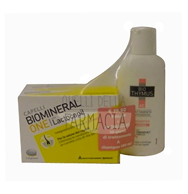 Biomineral Linea Hair Terapy One Lactopil 30+10 + Bio Thymus AC Shampoo Donna