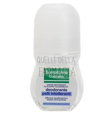 Somatoline Cosmetic Linea Deodorante Pelli Intolleranti Roll-on Delicato 50 ml