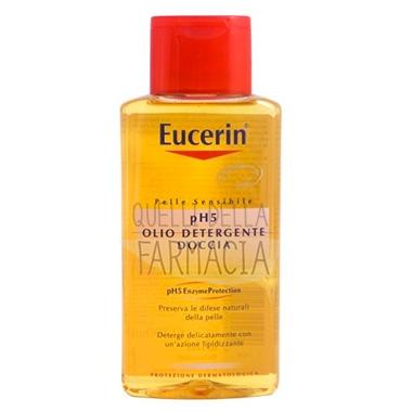 Eucerin Linea Pelle Sensibile pH5 Olio Detergente Doccia Delicato Lenitivo 400ml