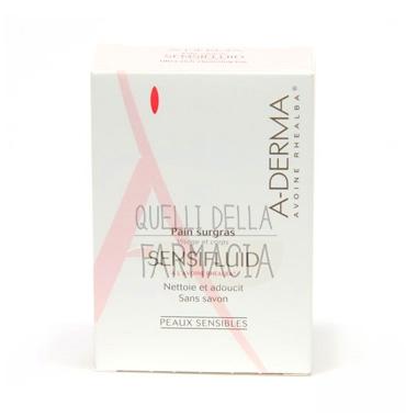 A-Derma Linea Sensifluid Pelli Sensibili Pain Surgras Pane Detergente 100 g