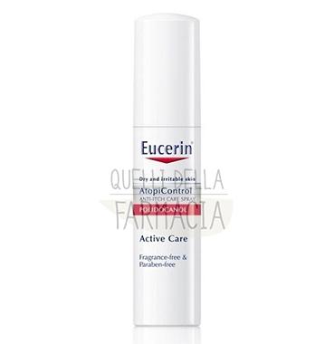 Eucerin Linea AtopiControl Spray Anti-Prurito Viso Corpo Pelli Atopiche 15 ml