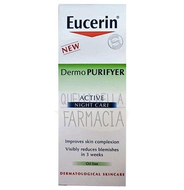 Eucerin Linea DermoPURIFYER Trattamento Notte Pelle Grassa Sensibile 50 ml