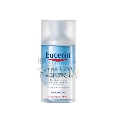Eucerin Linea DermatoCLEAN Lozione Bifasica Struccante Occhi Delicata 125 ml