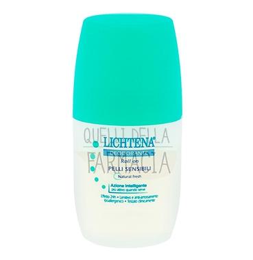 Lichtena Linea Deo Deodorante Roll-on Pelli Sensibili Natural Fresh 45 ml