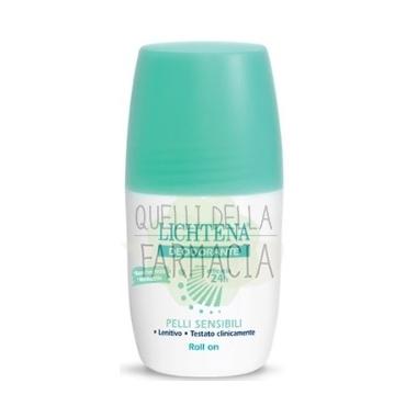 Lichtena Linea Deo Deodorante Roll-on Pelli Sensibili Senza Profumo 45 ml