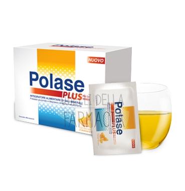 Polase Linea Sali Minerali Plus Integratore Senza Zucchero 24 Buste Arancia