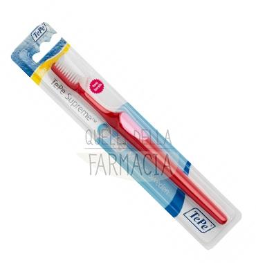 TePe Linea Cura Dentale Spazzolini da denti Supreme Testina Setole Standard