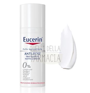 Eucerin Linea Pelli Ipersensibili Anti-Rose Notte Trattamento Lenitivo 50 ml
