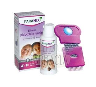 Paranix Linea Anti-Pediculosi Paranix Spray Delicato Pidocchi 60 ml + Pettine