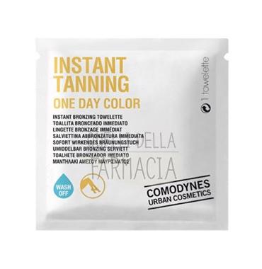 Comodynes Linea Autobbronzante Instant Tanning One Day Color 1 Salvietta
