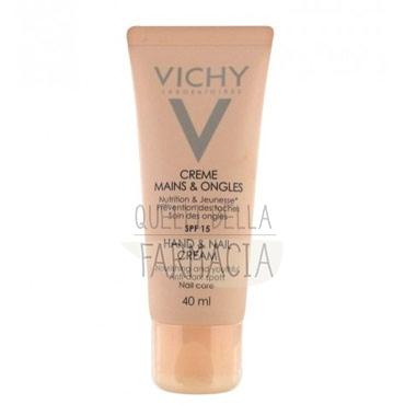 Vichy Linea Nutriente Mani Unghie Trattamento in Crema Nutri-Riparatore 40 ml