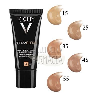 Vichy Make-up Linea Trucco Dermablend Fondotinta Correttore Fluido 30 ml 15