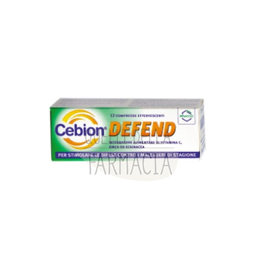 Cebion Linea Difese Immunitarie Defend Integratore 12 Compresse Effervescenti
