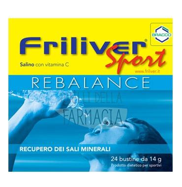 Friliver Linea Vitamine Minerali Sport Rebalance Integratore Alimentare 24 Buste