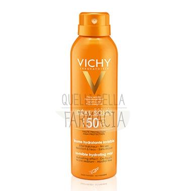 Vichy Linea Ideal Soleil SPF50 Spray Solare Protezione Invisibile 200 ml