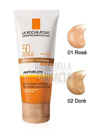 La Roche Posay Linea Anthelios SPF50 Blur Levigante Ottico Uniformante Rosè 40ml